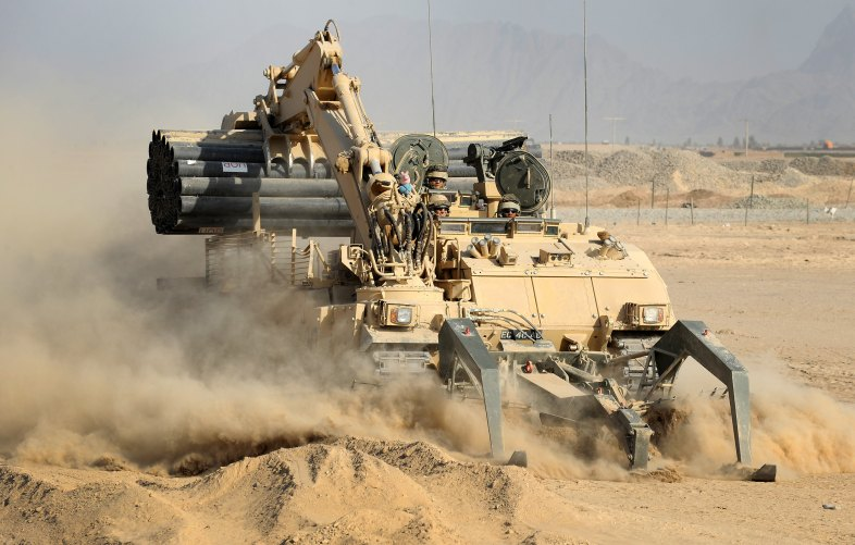 UK ENGINEERS PROVIDE DECISIVE POWER TO KANDAHAR OPERATION